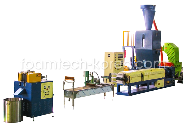 PE and PS Foam Recycling Line