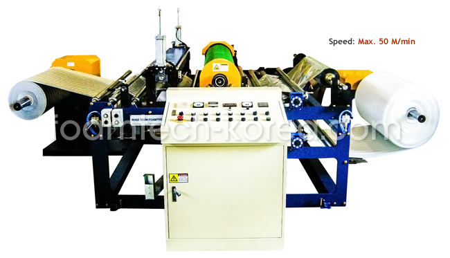 PE Foam Sheet Laminating M/C