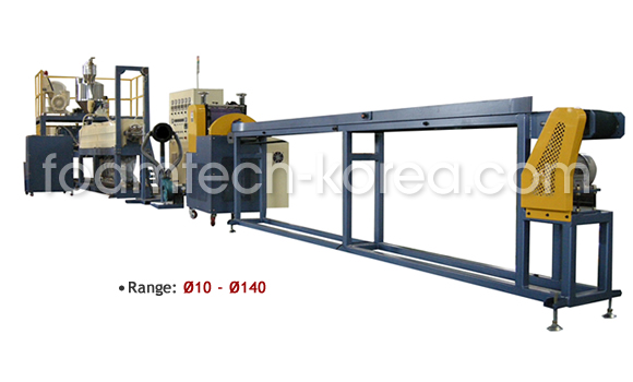 PE Foam Tube Extrusion Line